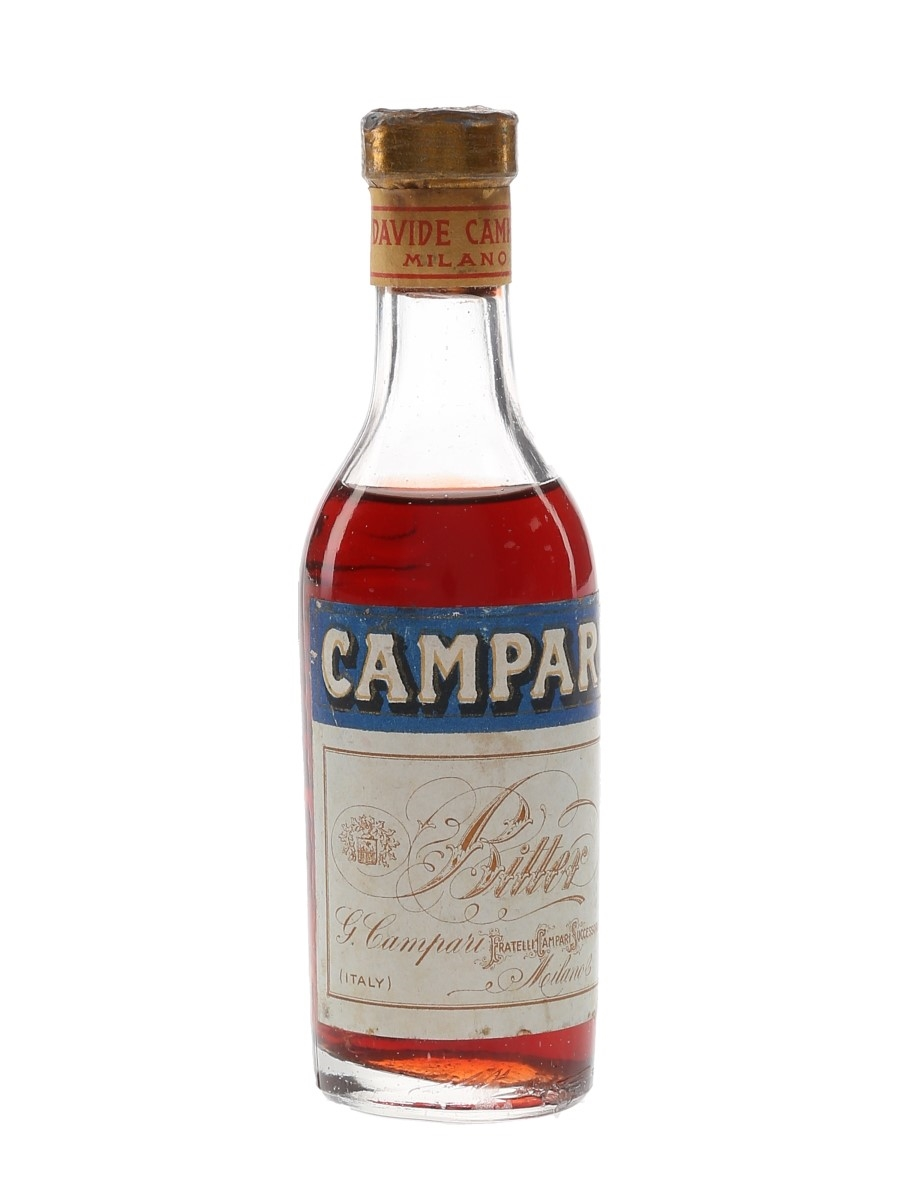 Campari Bitter Bottled 1940s-1950s 5cl