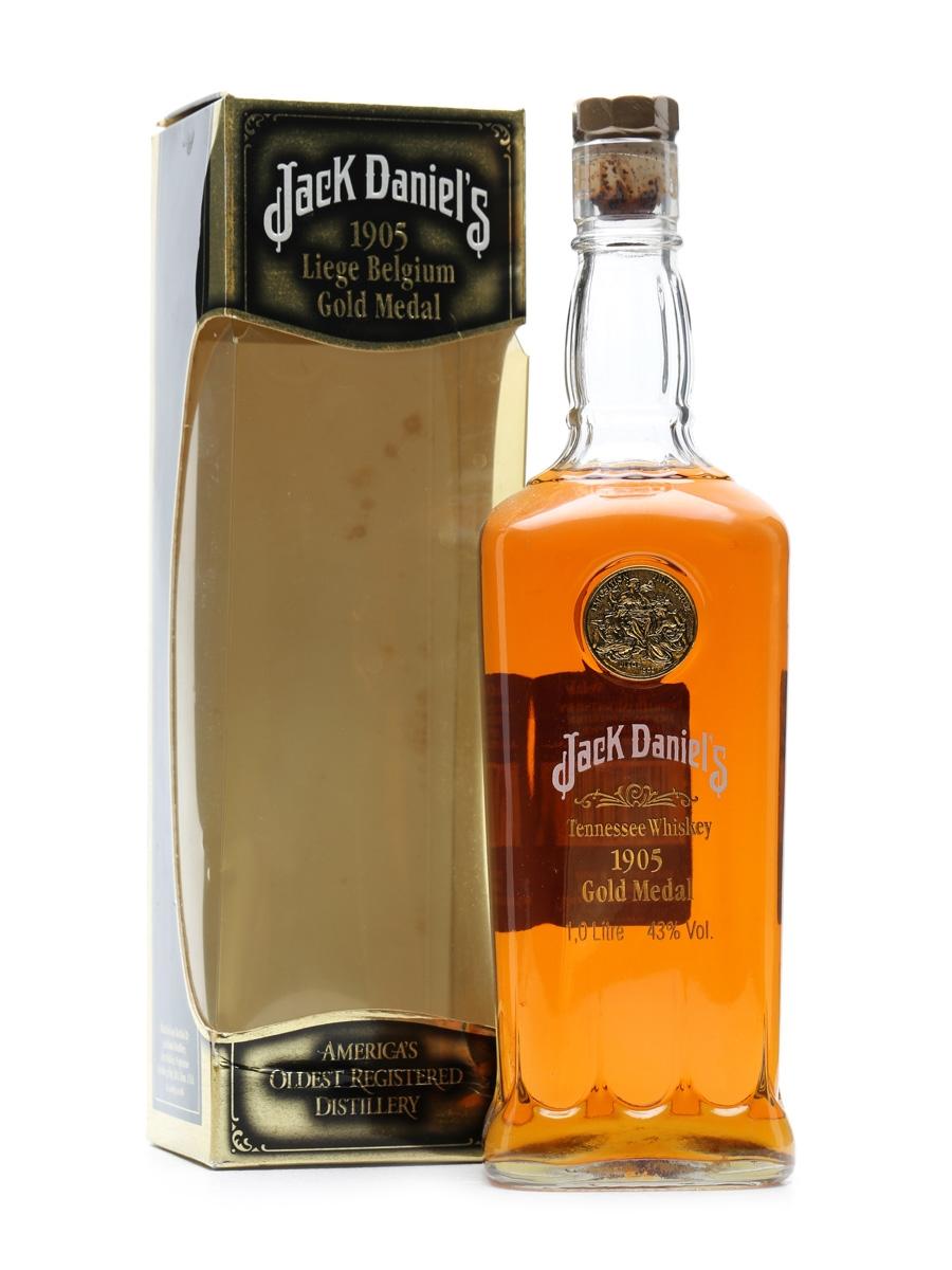 Jack Daniel's 1905 Gold Medal 1 Litre