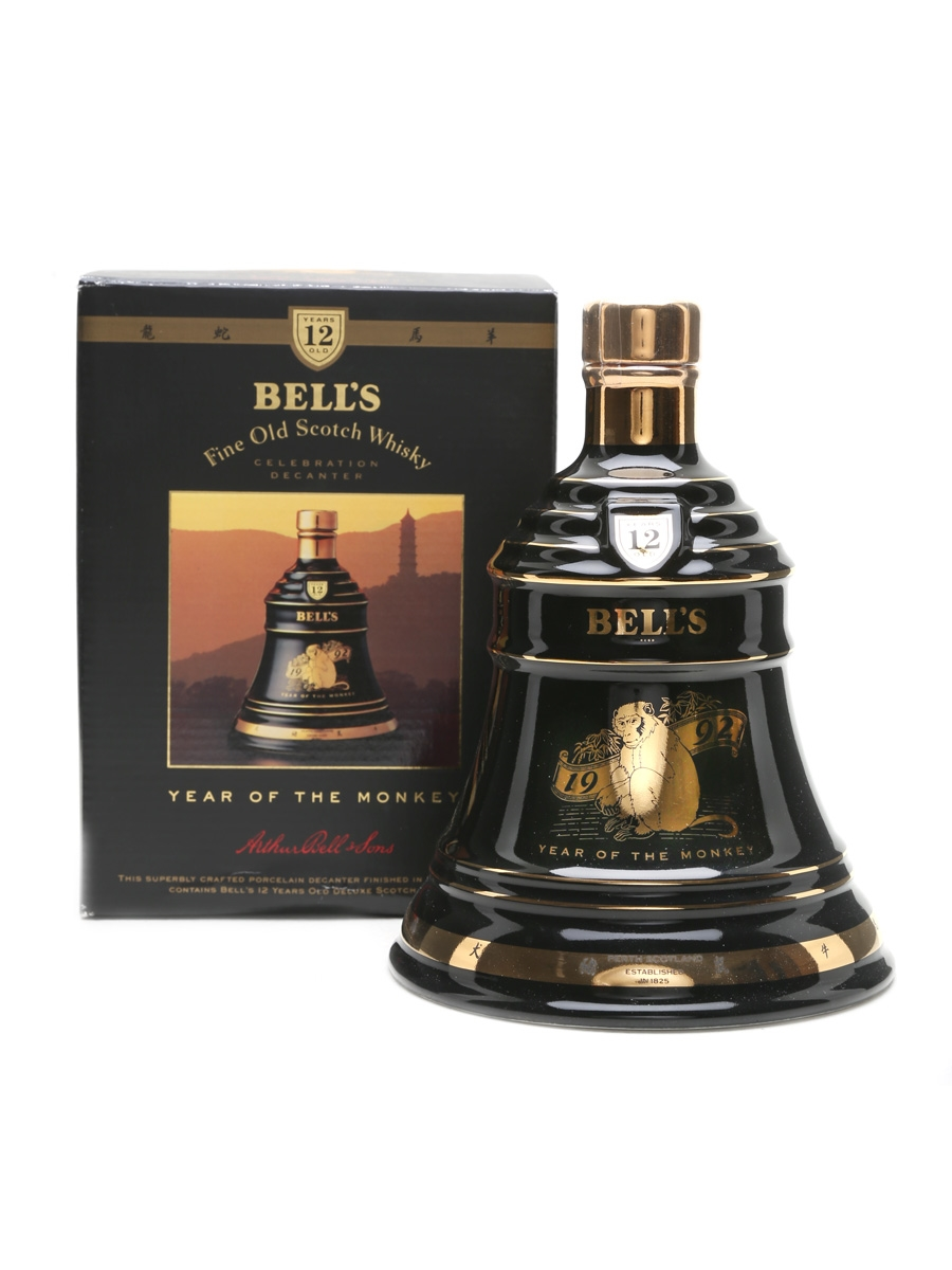 Bell's Decanter 12 Year Old 1992 Year Of The Monkey 75cl / 43%