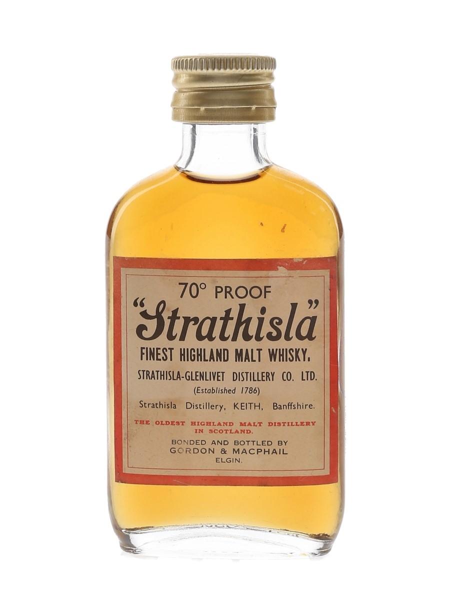 Strathisla Bottled 1970s - Gordon & MacPhail 5cl / 40%