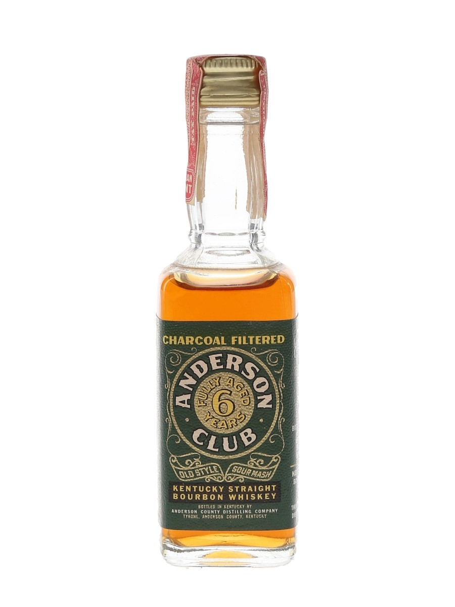 Anderson Club 6 Year Old Bottled 1970s 4.7cl / 45%