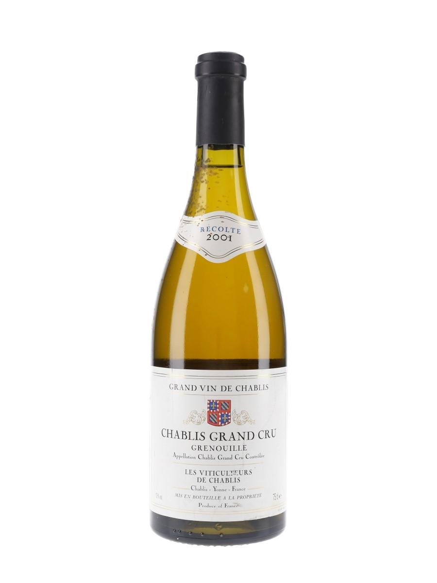 Chablis Grand Cru Grenouille 2001 Les Viticulteurs De Chablis 75cl / 13%