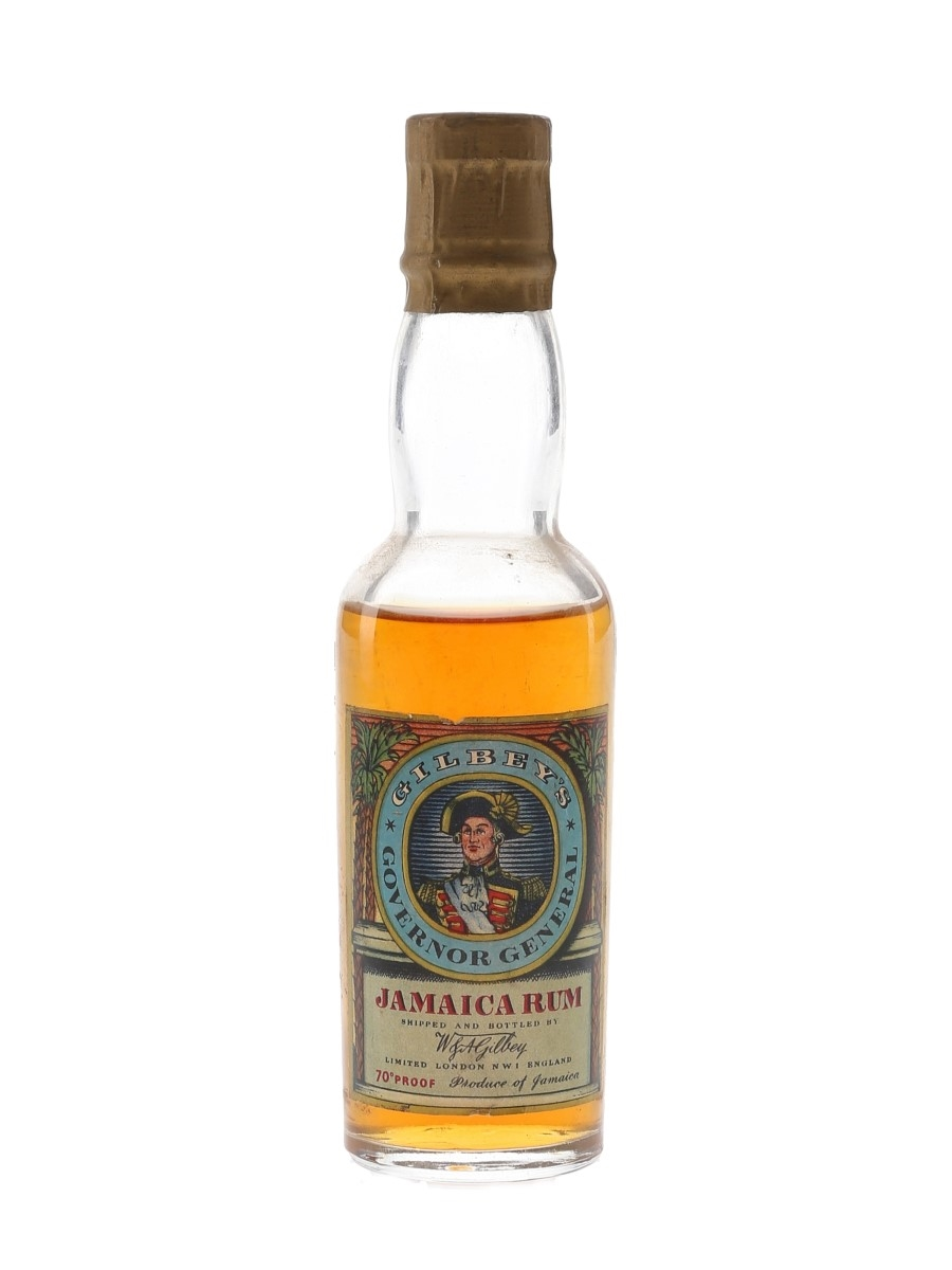 Gilbey's Governor General Bottled 1950s 5cl / 40%