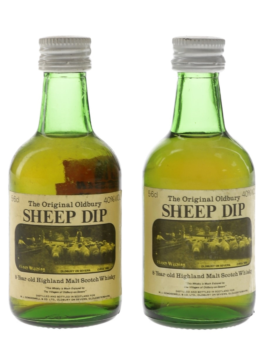 Sheep Dip 8 Year Old Bottled 1980s 2 x 5.6cl / 40%