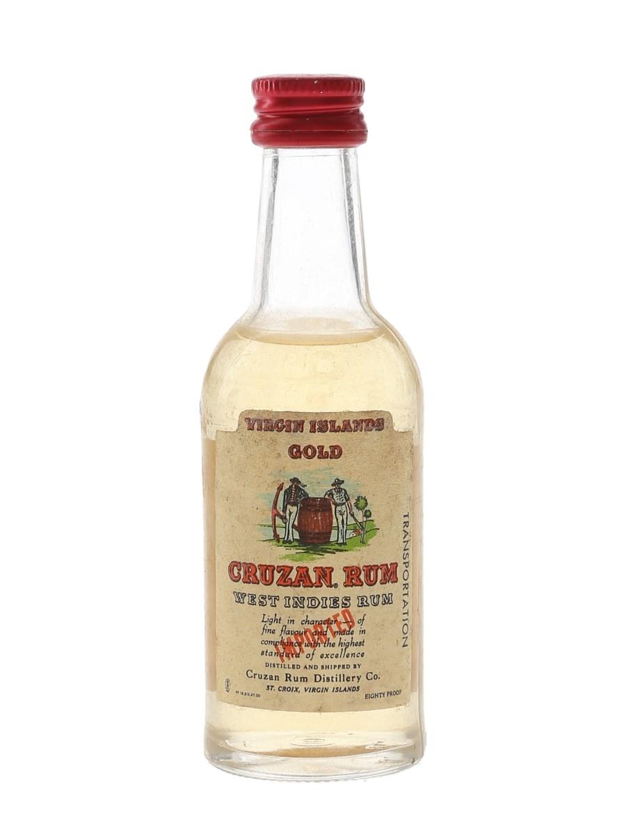 Cruzan Rum Bottled 1970s 4.7cl / 40%