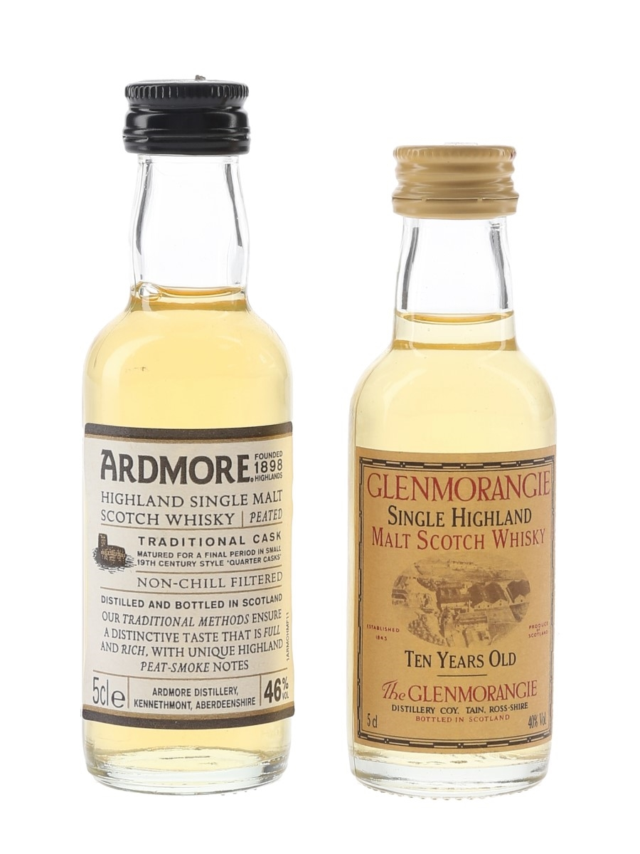 Ardmore & Glenmorangie  2 x 5cl