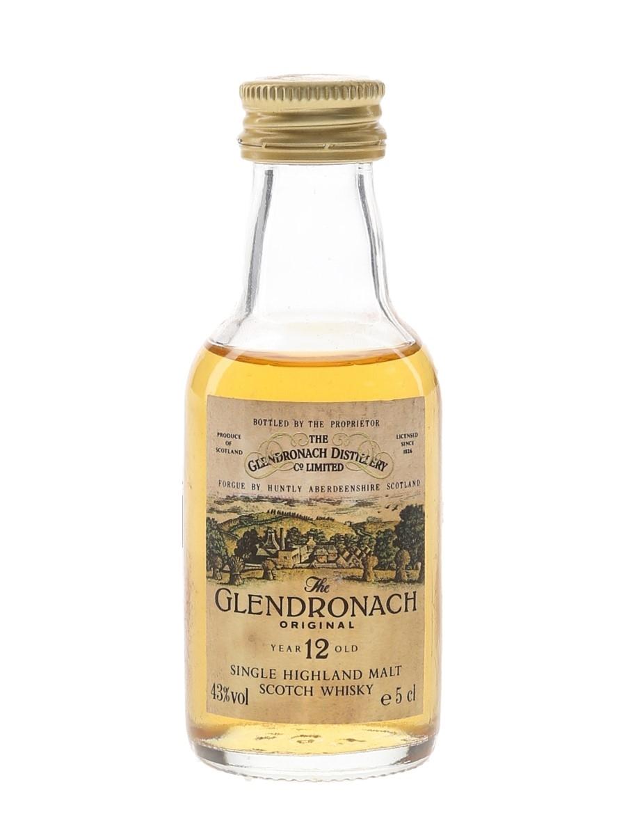 Glendronach 12 Year Old Original Bottled 1980s-1990s 5cl / 43%