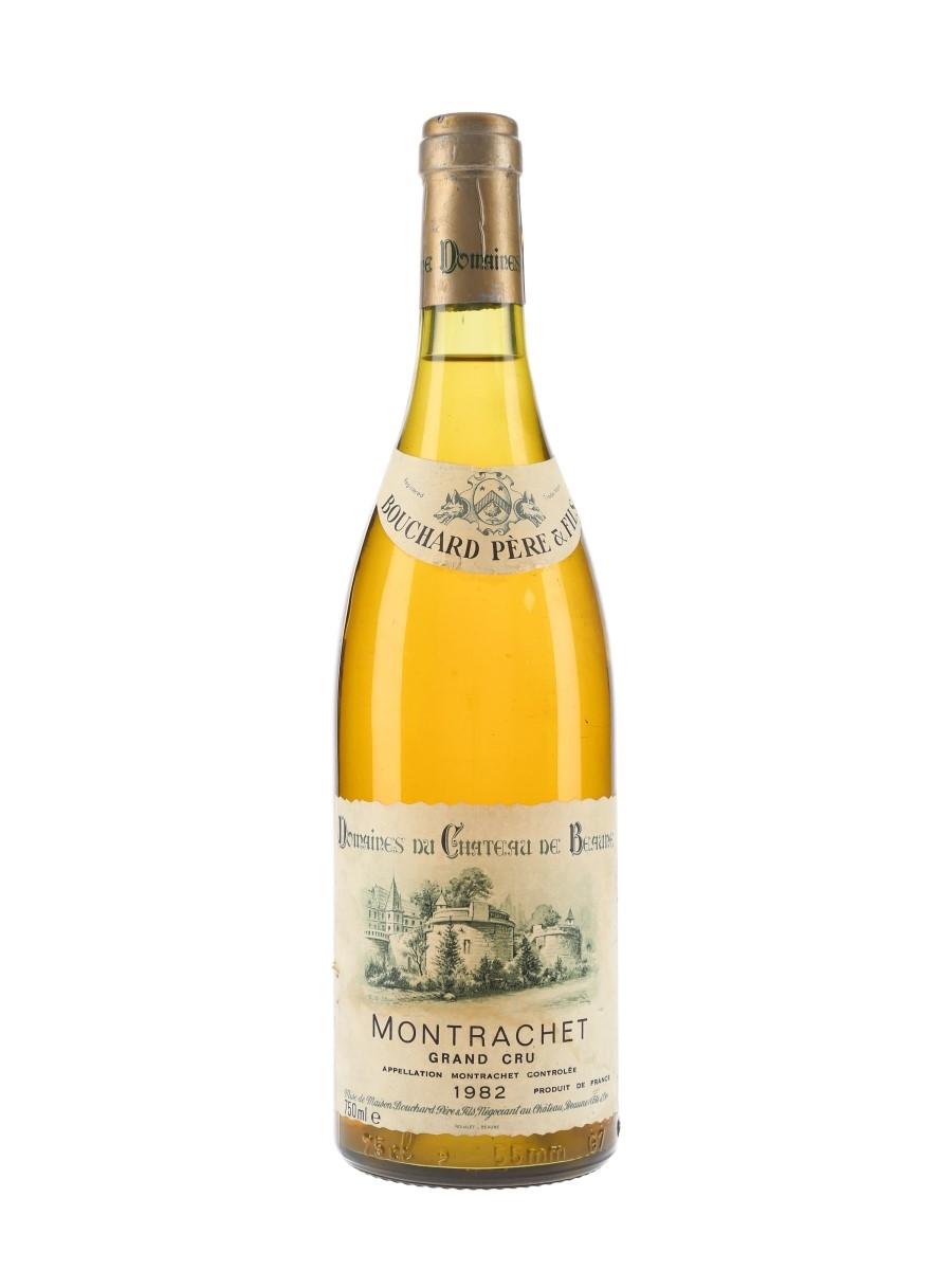 Le Montrachet Grand Cru 1982 Bouchard Pere Et Fils 75cl