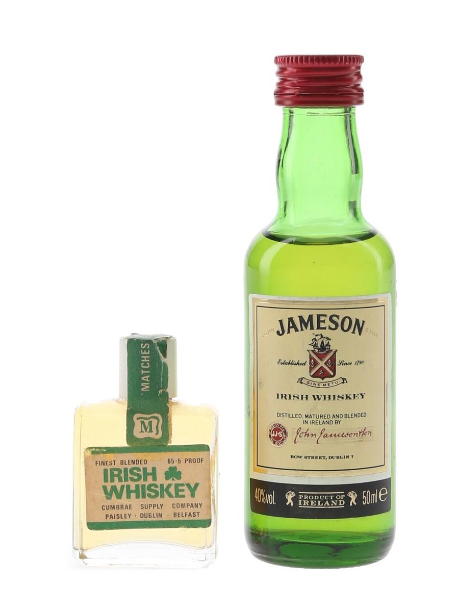 Jameson & Matches De Luxe  1cl & 5cl