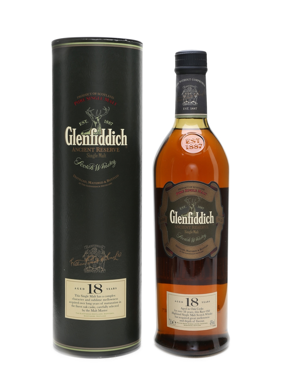 Glenfiddich 18 Year Old Ancient Reserve 70cl / 43%