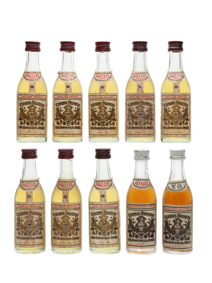 Anglias Cyprus Brandy  10 x 5cl / 32%