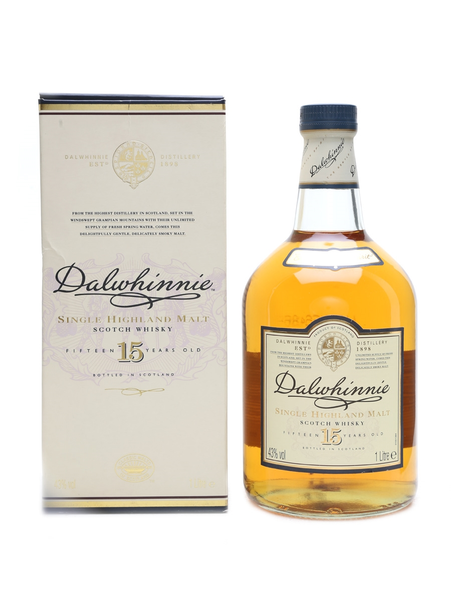 Dalwhinnie 15 Year Old  100cl / 43%