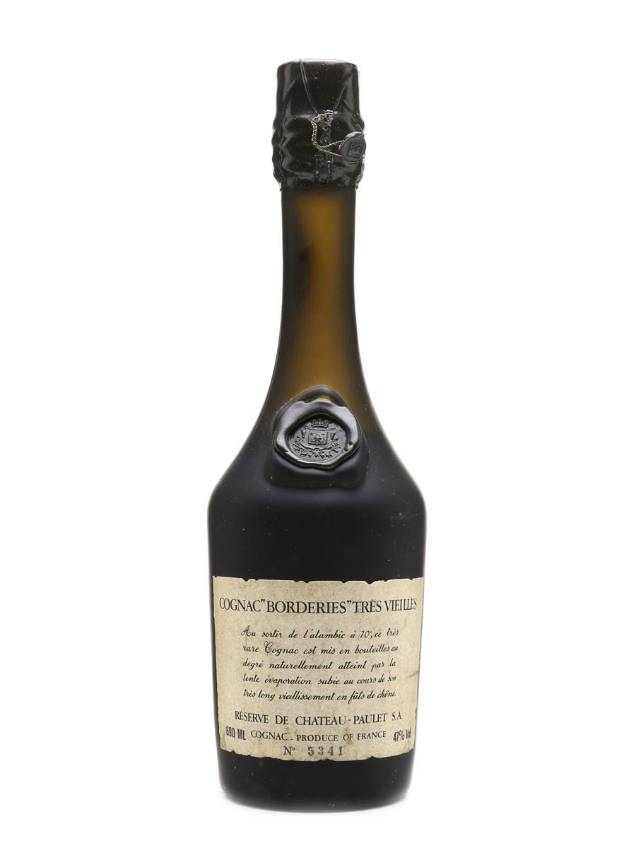 Chateau Paulet Borderies Cognac Tres Vieilles 69cl