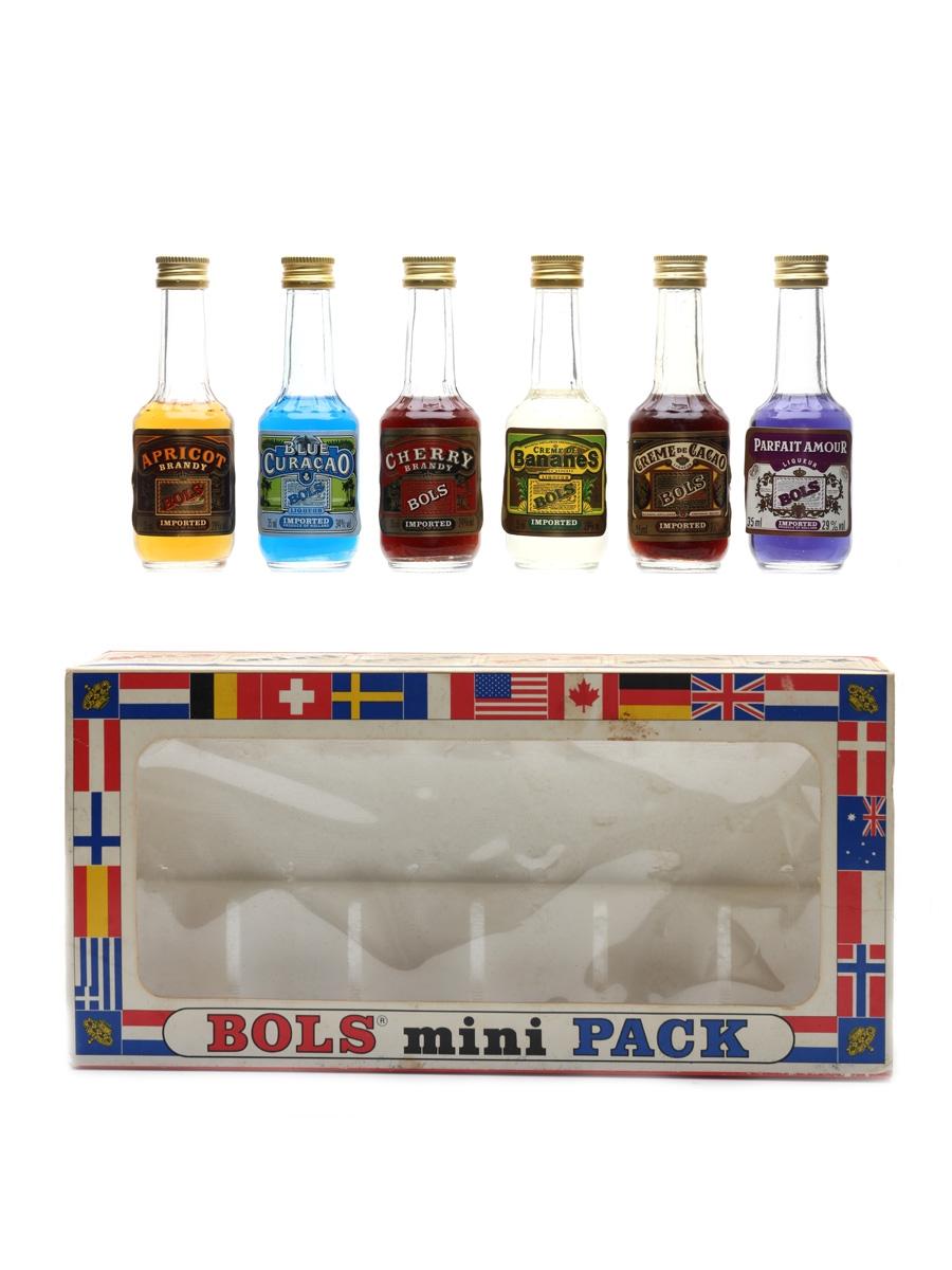 Bols Mini Pack Bottled 1980s 6 x 3.5cl