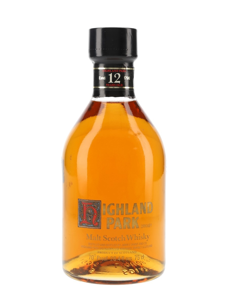 Highland Park 12 Year Old Bottled 1970s-1980s 75cl / 40%