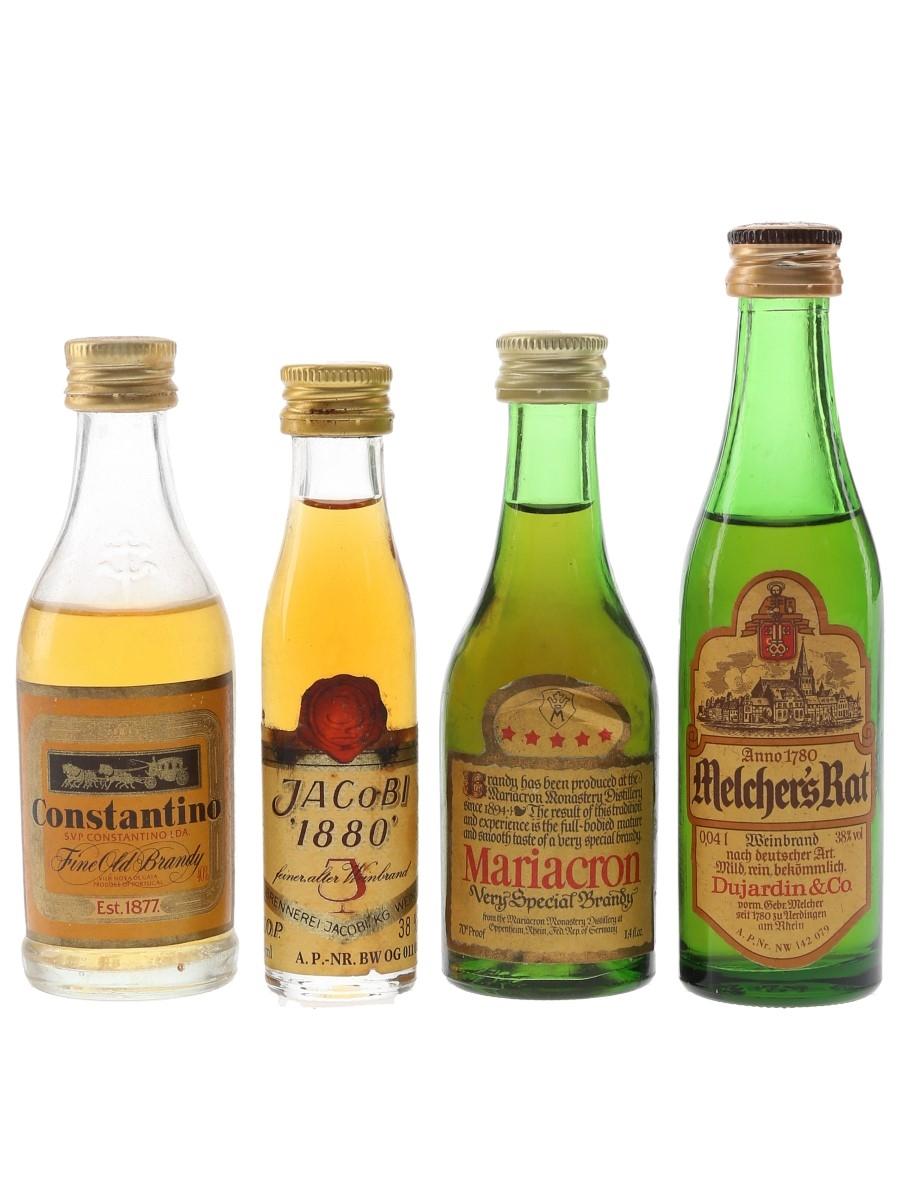 Constantin, Dujardin, Mariacron & Jacobi  4 x 2cl-5cl
