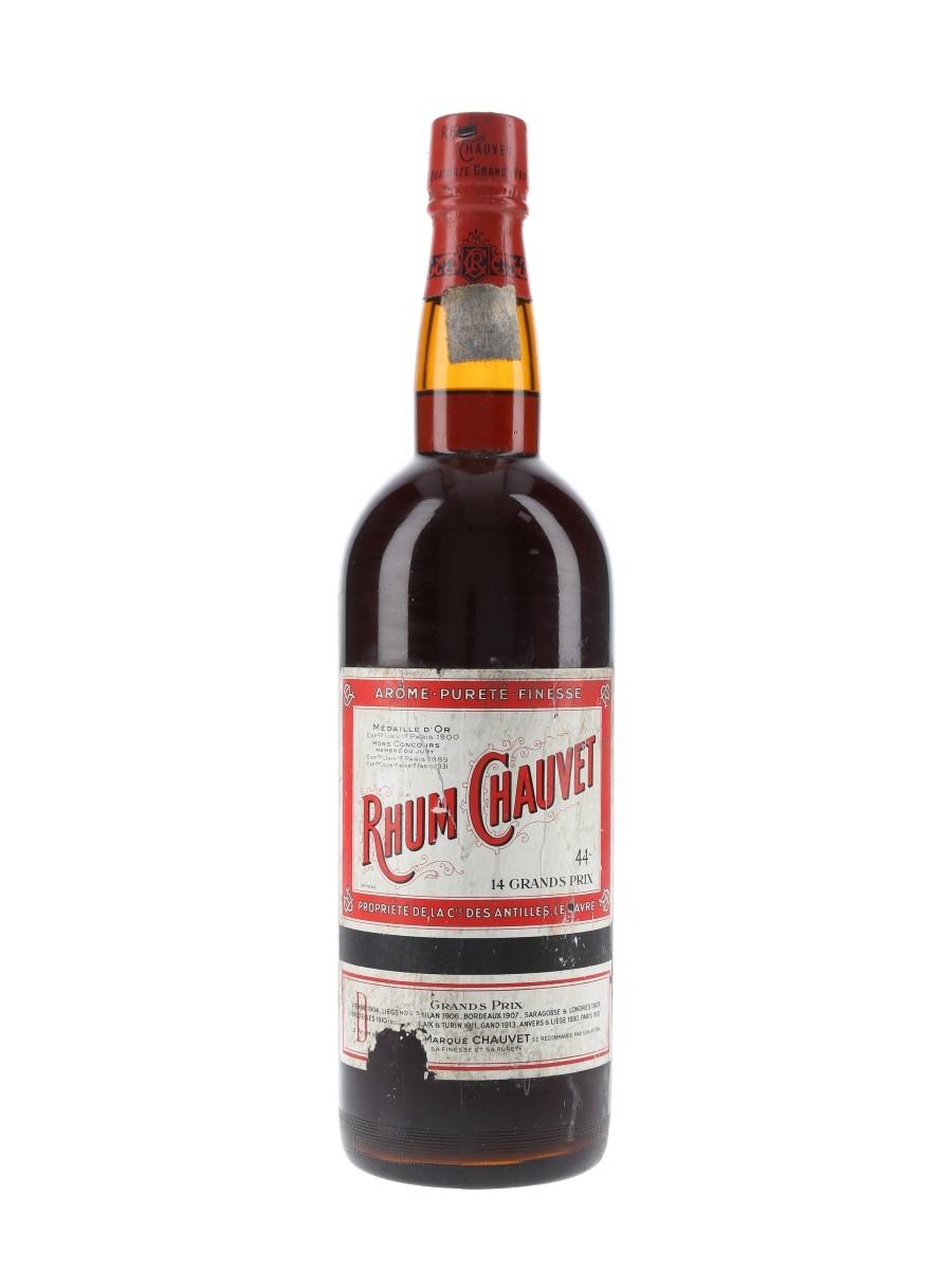 Rhum Chauvet 14 Grands Prix Bottled 1950s 100cl / 44%