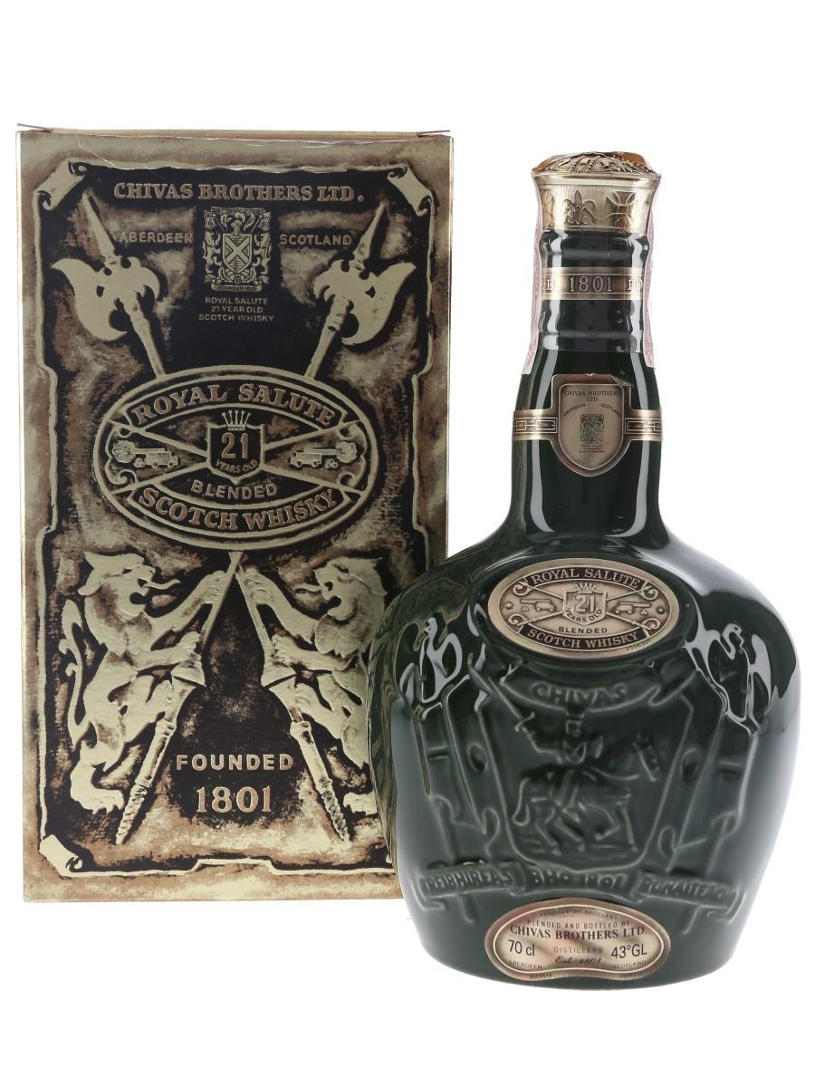 Royal Salute 21 Year Old Bottled 1980s - Hong Kong & Macau 70cl / 43%