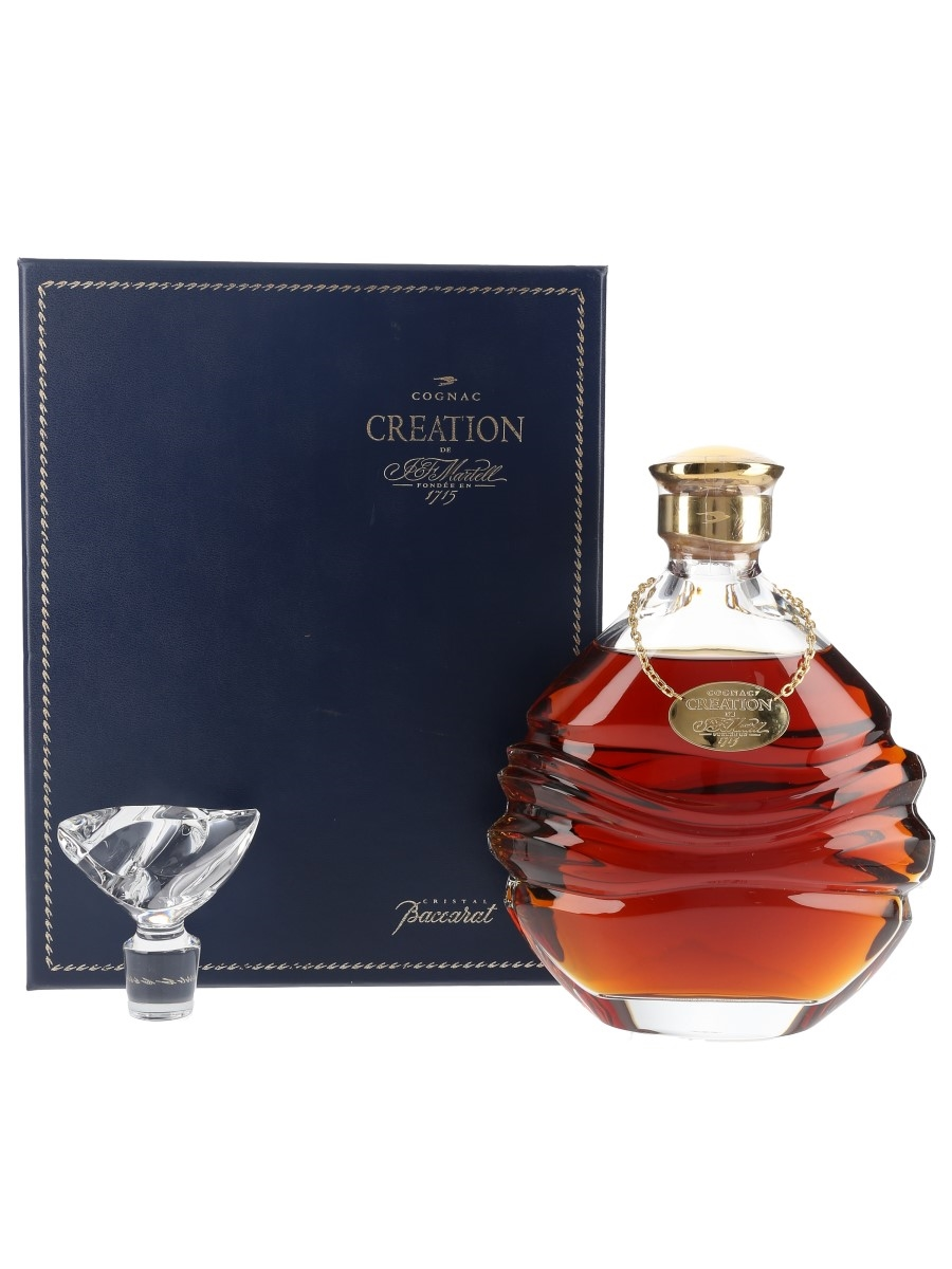 Martell Creation Baccarat Crystal Decanter 75cl / 40%