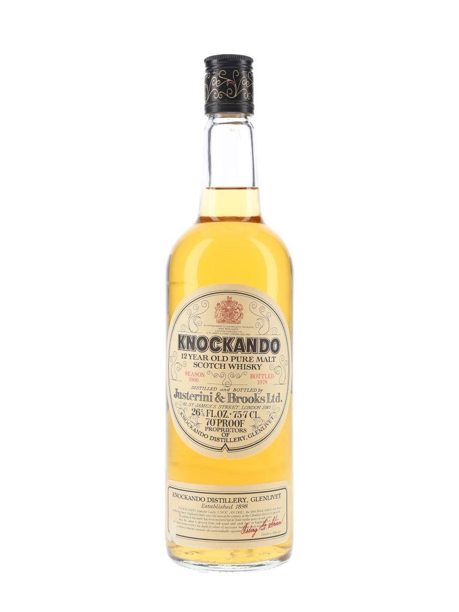 Knockando 1966 Bottled 1978 75.7cl / 40%