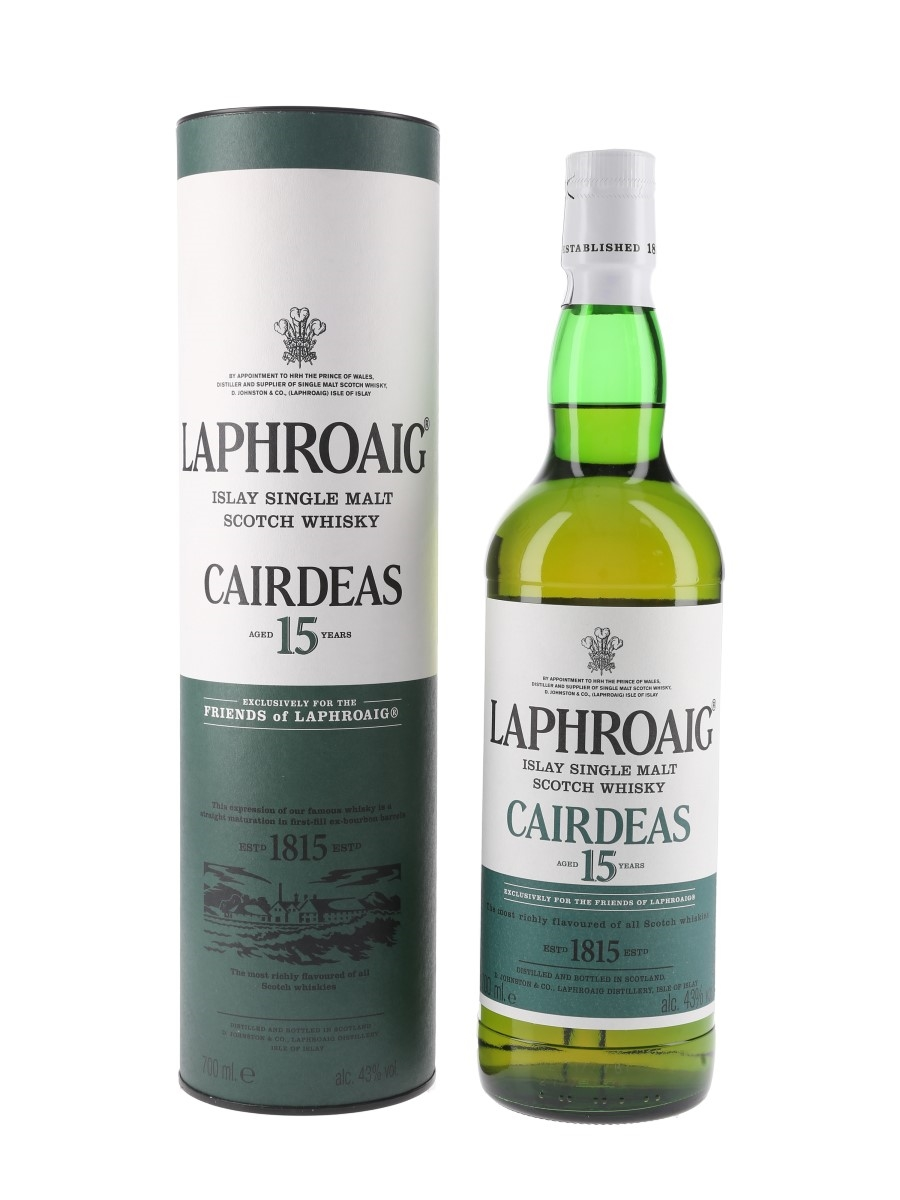 Laphroaig Cairdeas 2001 15 Year Old Friends Of Laphroaig 70cl / 43%