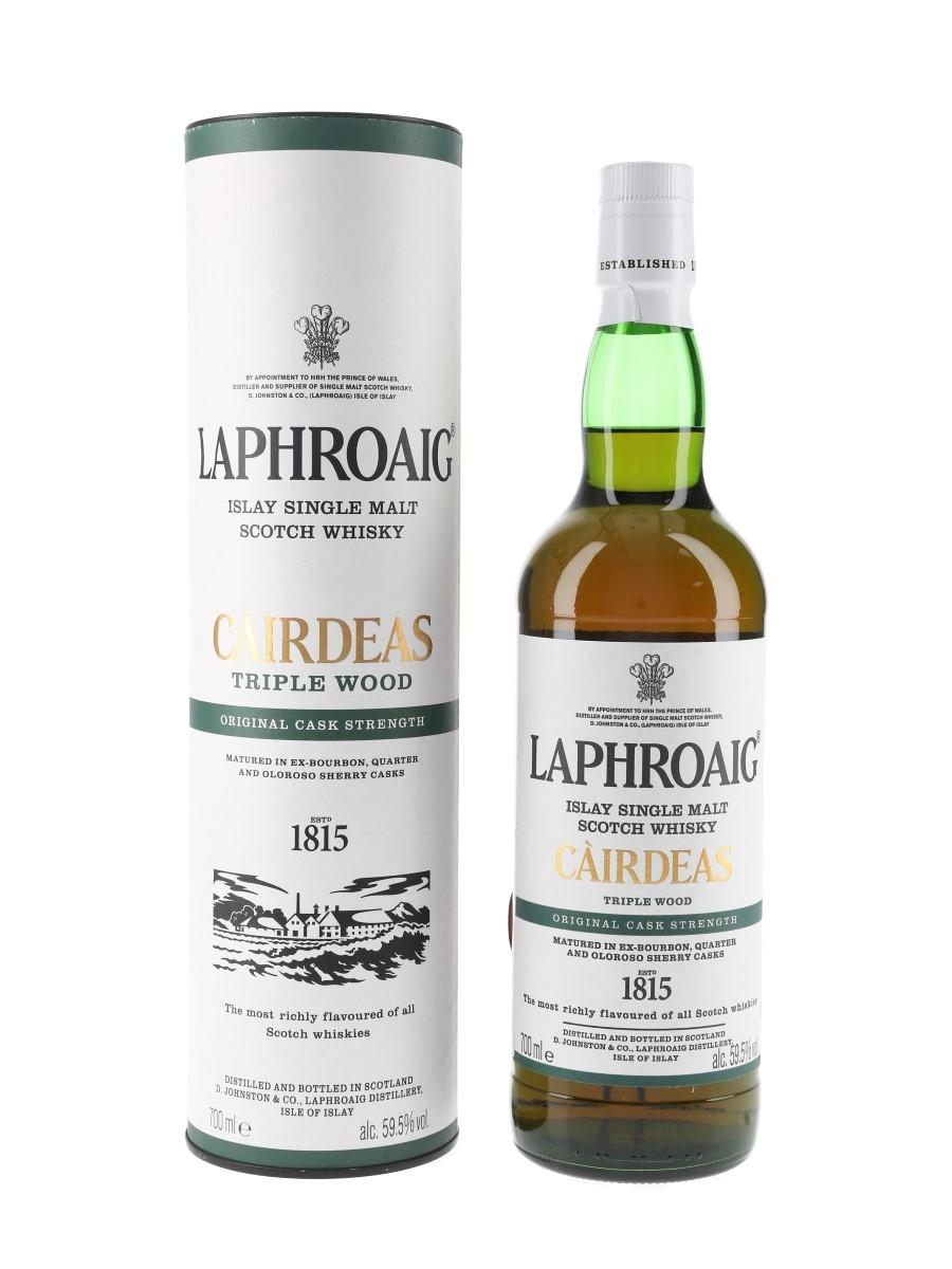Laphroaig Cairdeas Triple Wood Bottled 2019 70cl / 59.5%