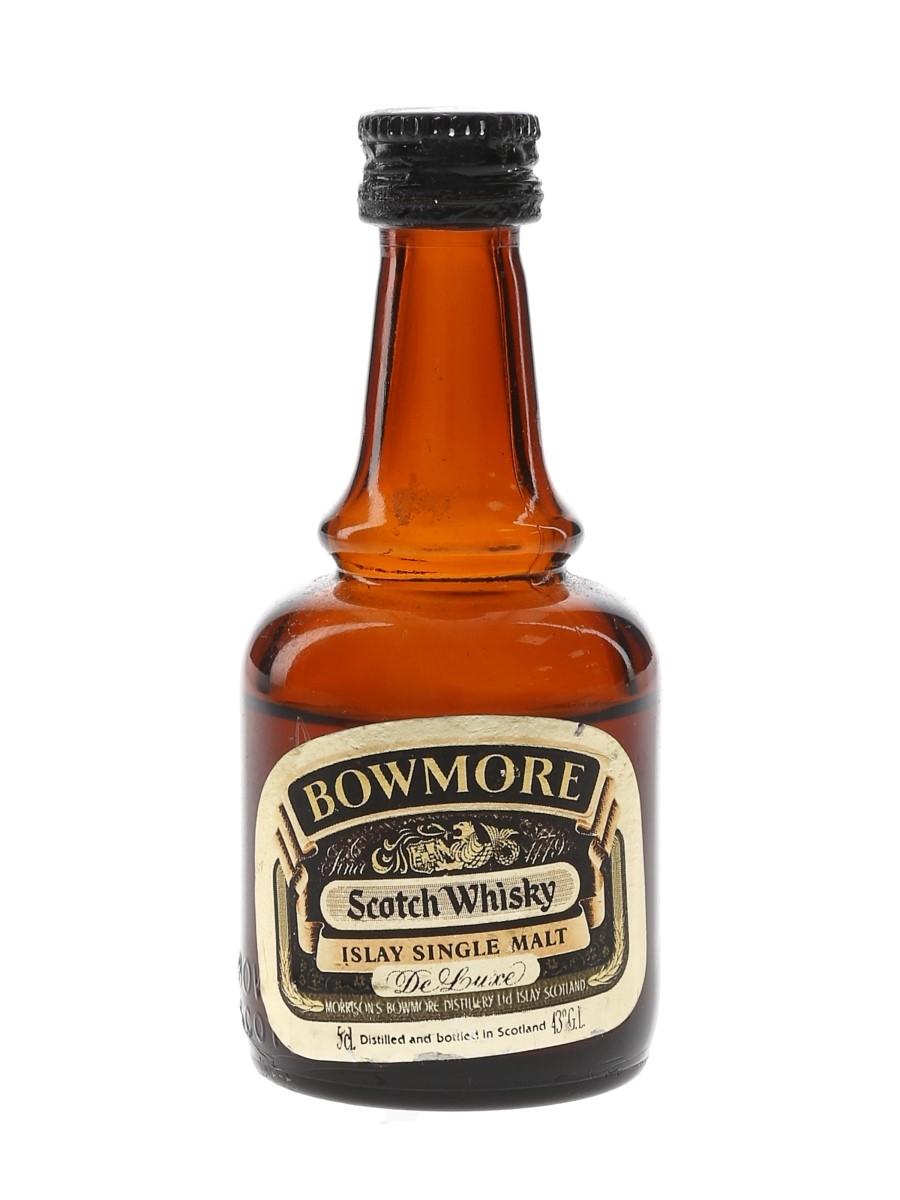 Bowmore De Luxe Bottled 1980s 5cl / 43%