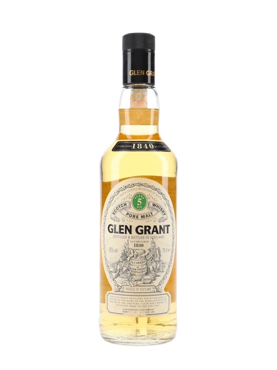 Glen Grant 5 Year Old Bottled 1990s 70cl / 40%