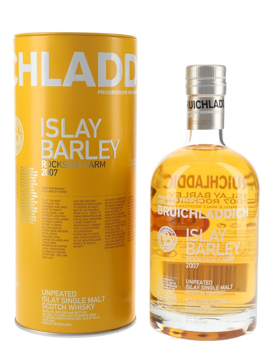 Bruichladdich Islay Barley 2007 Bottled 2014 70cl / 50%