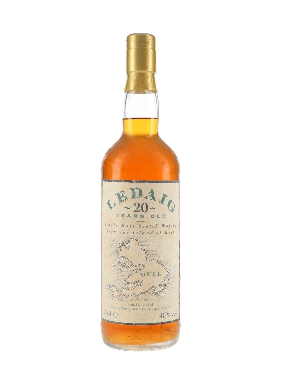 Ledaig 20 Year Old Bottled 1990s - Douglas Murdoch & Co. 70cl / 40%