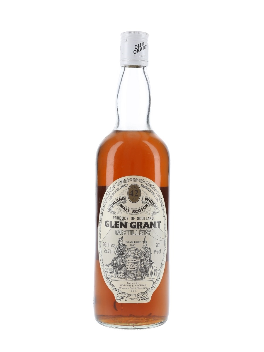 Glen Grant 42 Year Old Bottled 1970s - Gordon & MacPhail 70cl / 40%