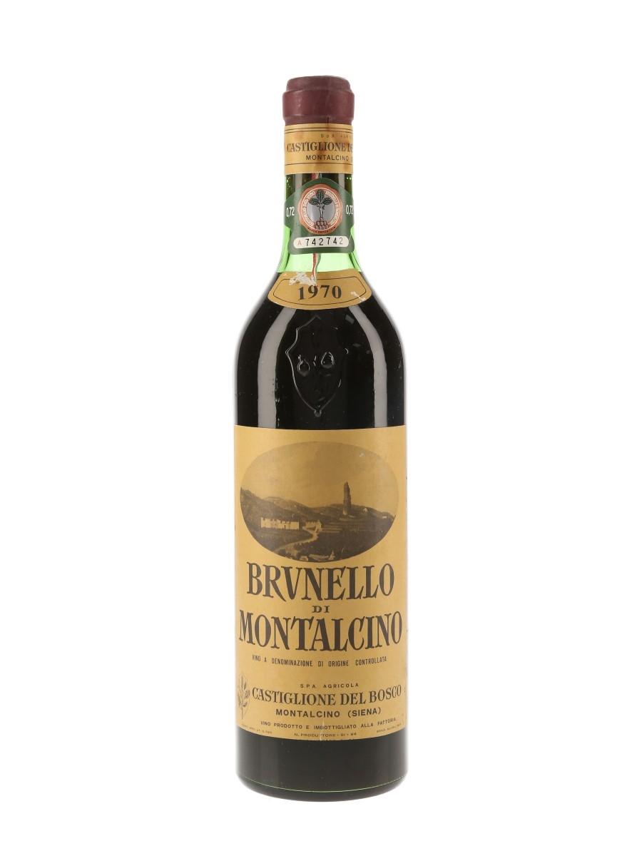 Castiglione Del Bosco 1970 Brunello Di Montalcino 72cl / 12.5%