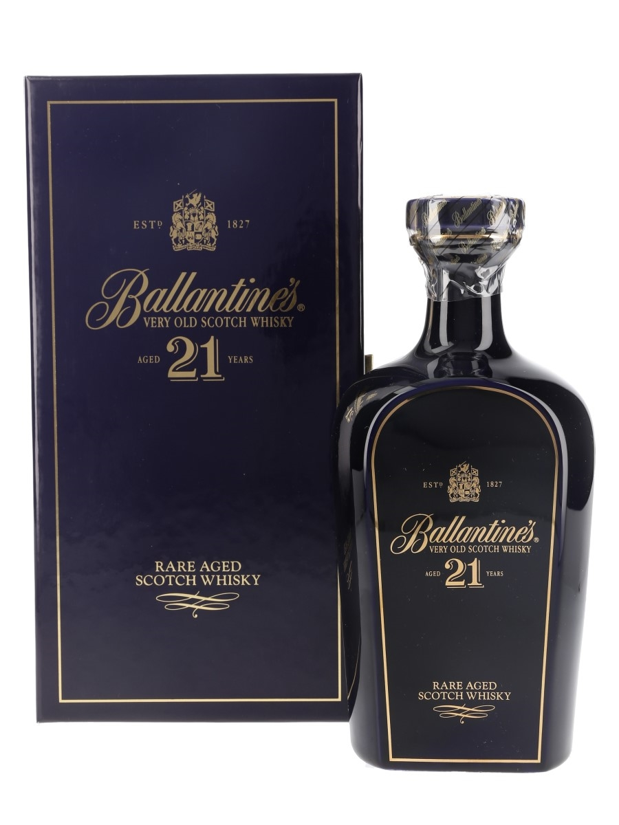 Ballantine's 21 Year Old Wade Ceramic Decanter 70cl / 43%