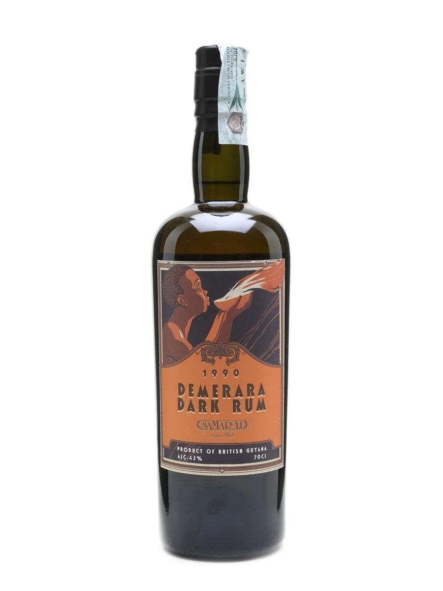Demerara Dark Rum 1990 Samaroli 70cl