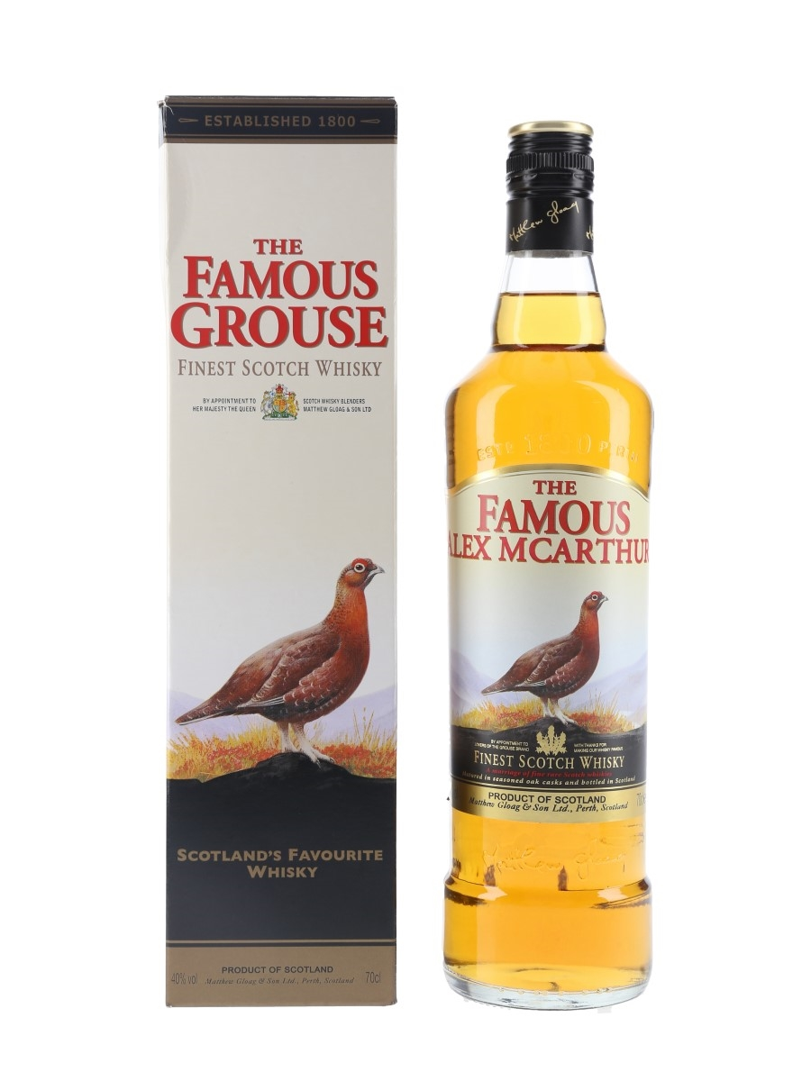 Famous Grouse Personalised Label 70cl / 40%