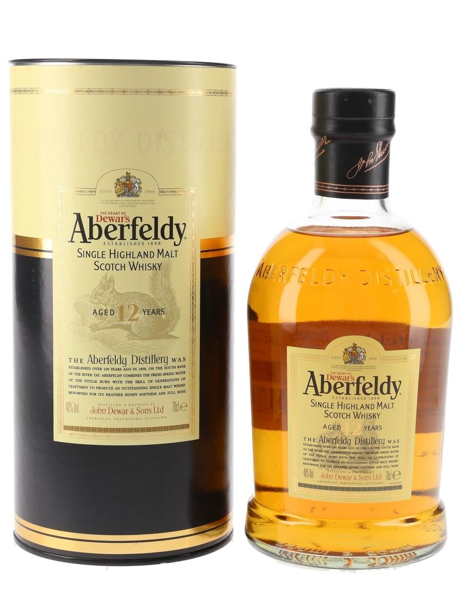Aberfeldy 12 Year Old Bottled 2000s 70cl / 40%