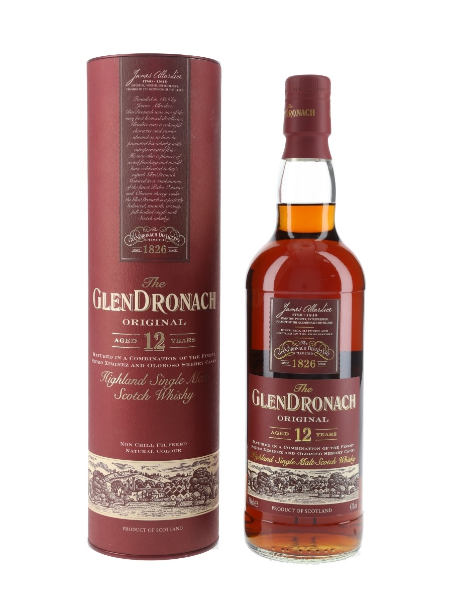 Glendronach Original 12 Year Old Bottled 2013 70cl / 43%