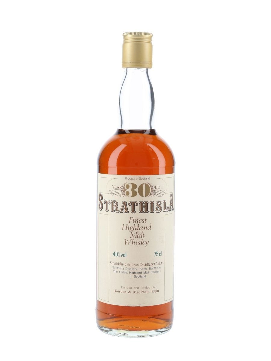 Strathisla 30 Year Old Bottled 1980s 75cl / 40%