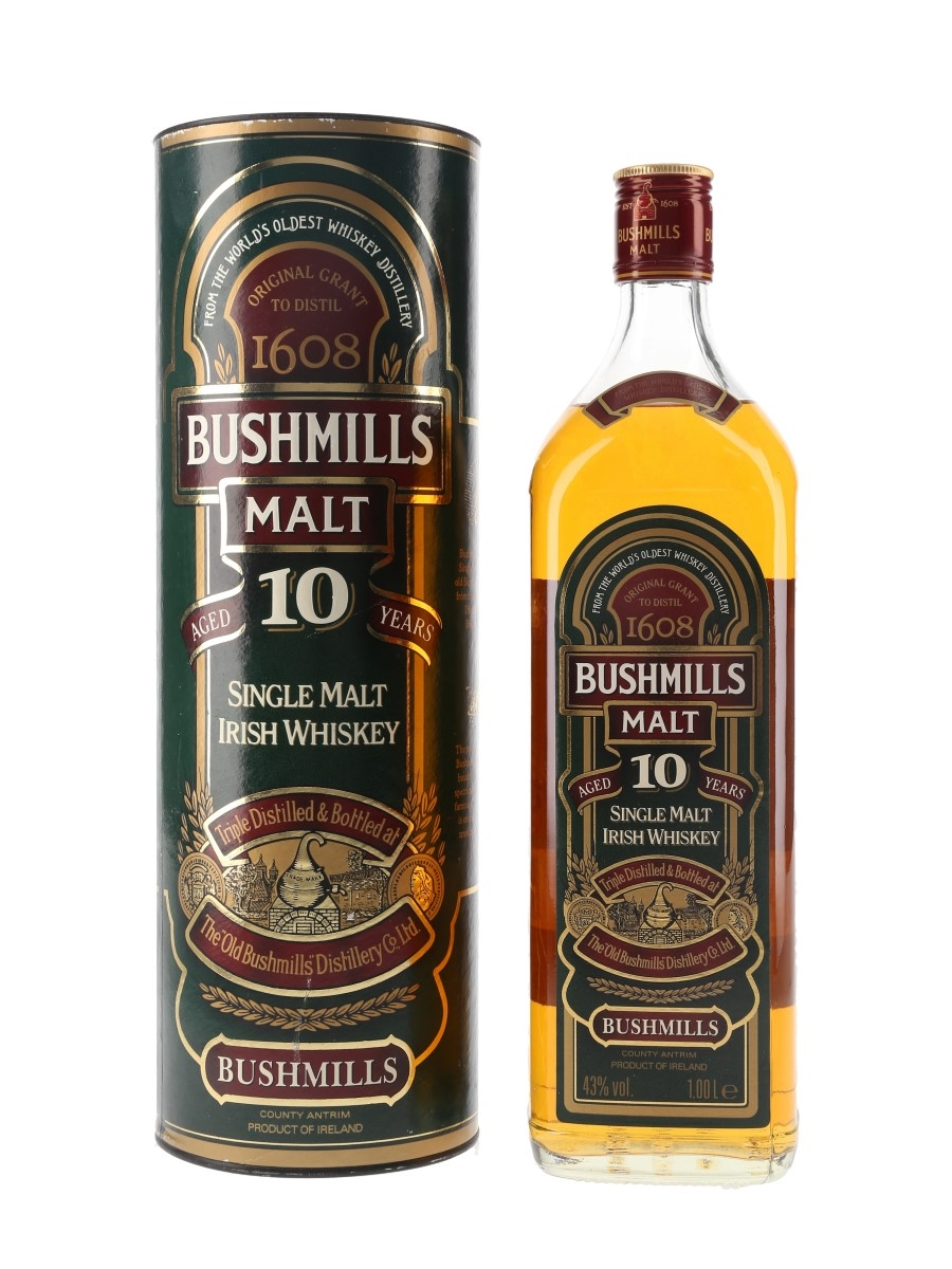 Bushmills 10 Year Old Old Presentation 100cl / 43%