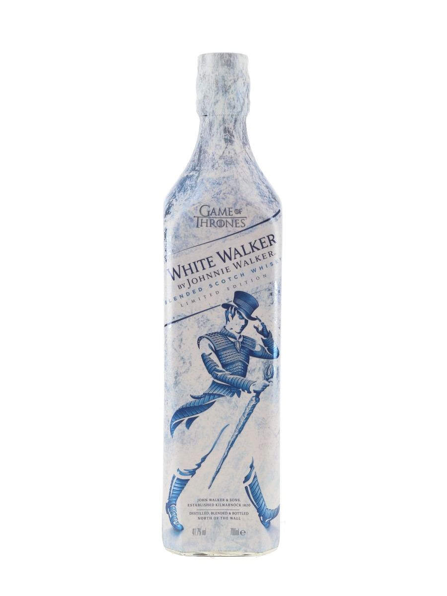 Johnnie Walker White Walker Bottled 2018 - Game Of Thrones 70cl / 41.7%