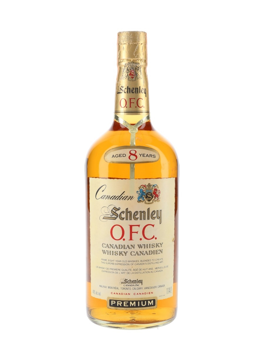 Schenley OFC 1974 8 Year Old Bottled 1982 114cl / 40%