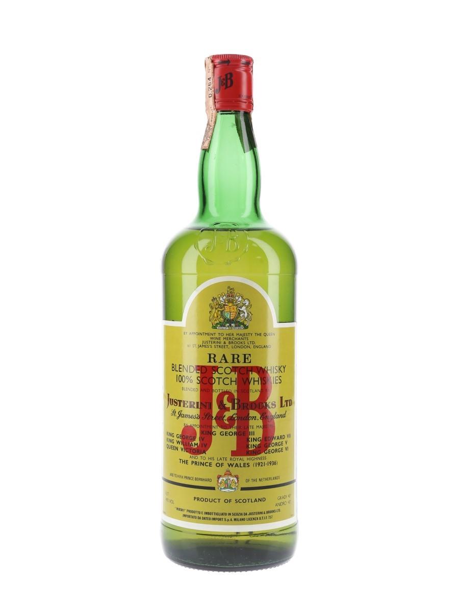 J & B Rare Bottled 1980s - Dateo 100cl / 40%