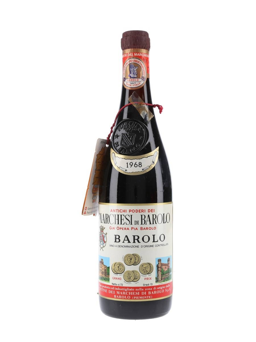 Marchesi Di Barolo 1968  72cl / 13%