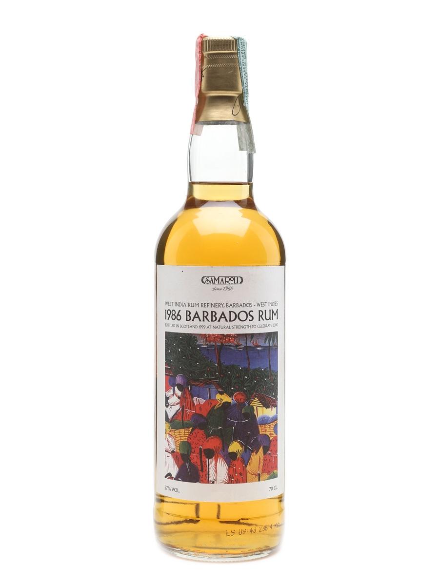 Samaroli Barbados Rum 1986  70cl