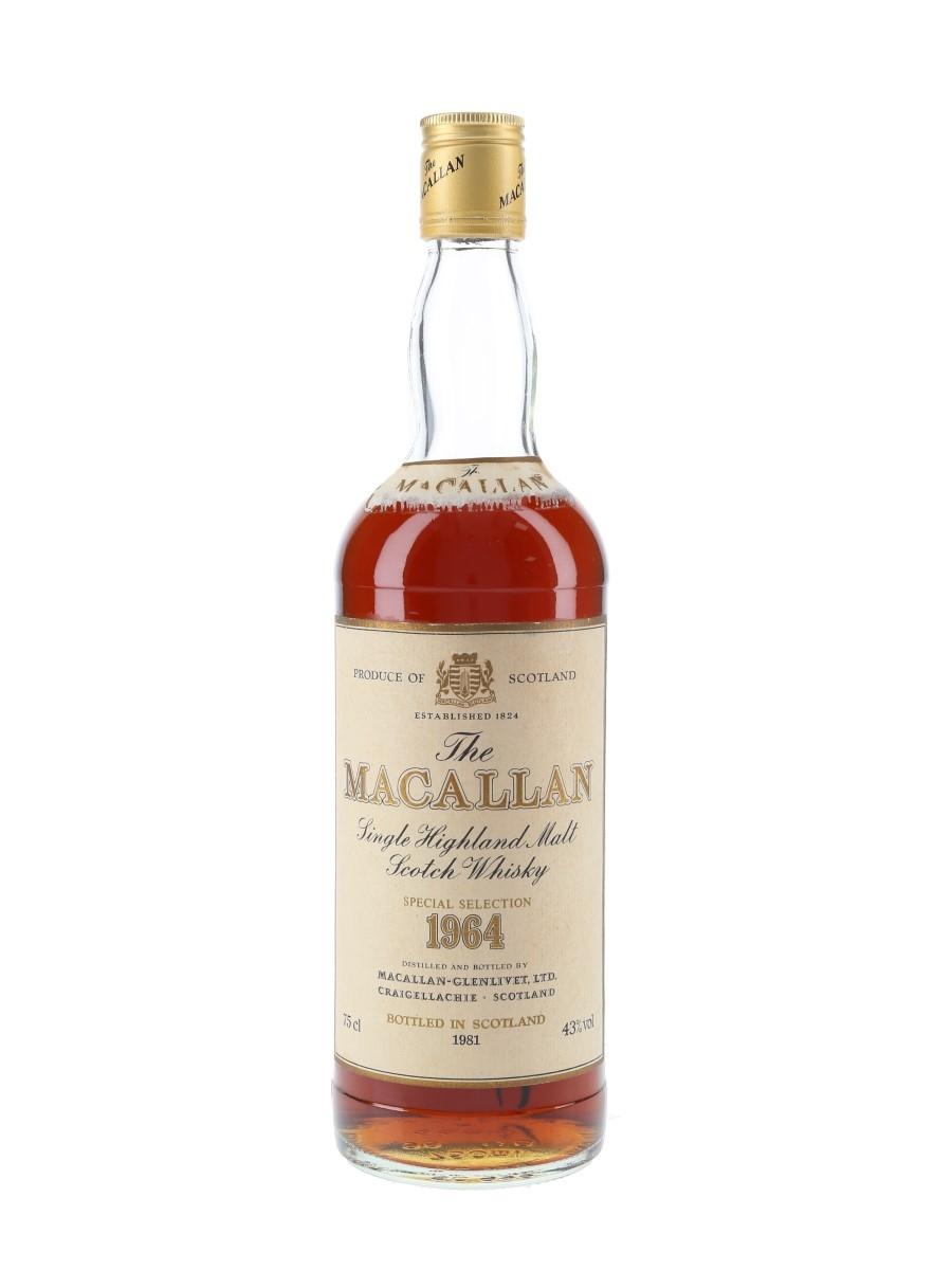 Macallan 1964 Bottled 1981 - Pro Nobilitate Ebert, Hainzl & Co. 75cl / 43%