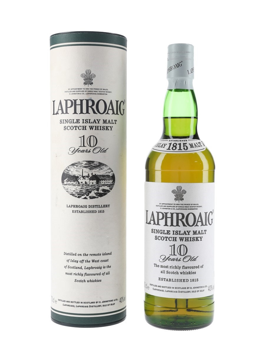 Laphroaig 10 Year Old Bottled 2000s 70cl / 40%