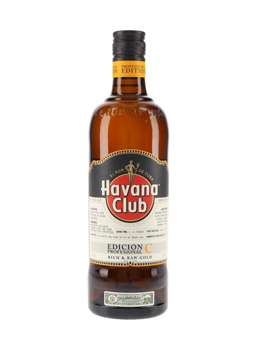 Havana Club Edicion Profesional C Asbel Morales 70cl / 50%