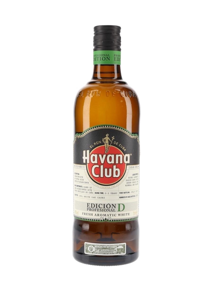 Havana Club Edicion Profesional D Salome Aleman & Juan Carlos Gonzalez 70cl / 40%