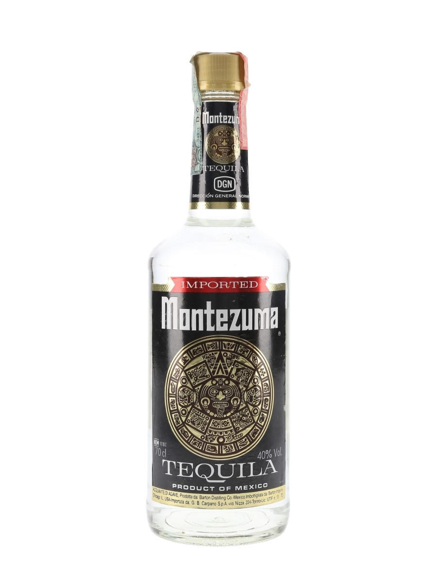 Montezuma Tequila Bottled 1990s - Carpano 70cl / 40%