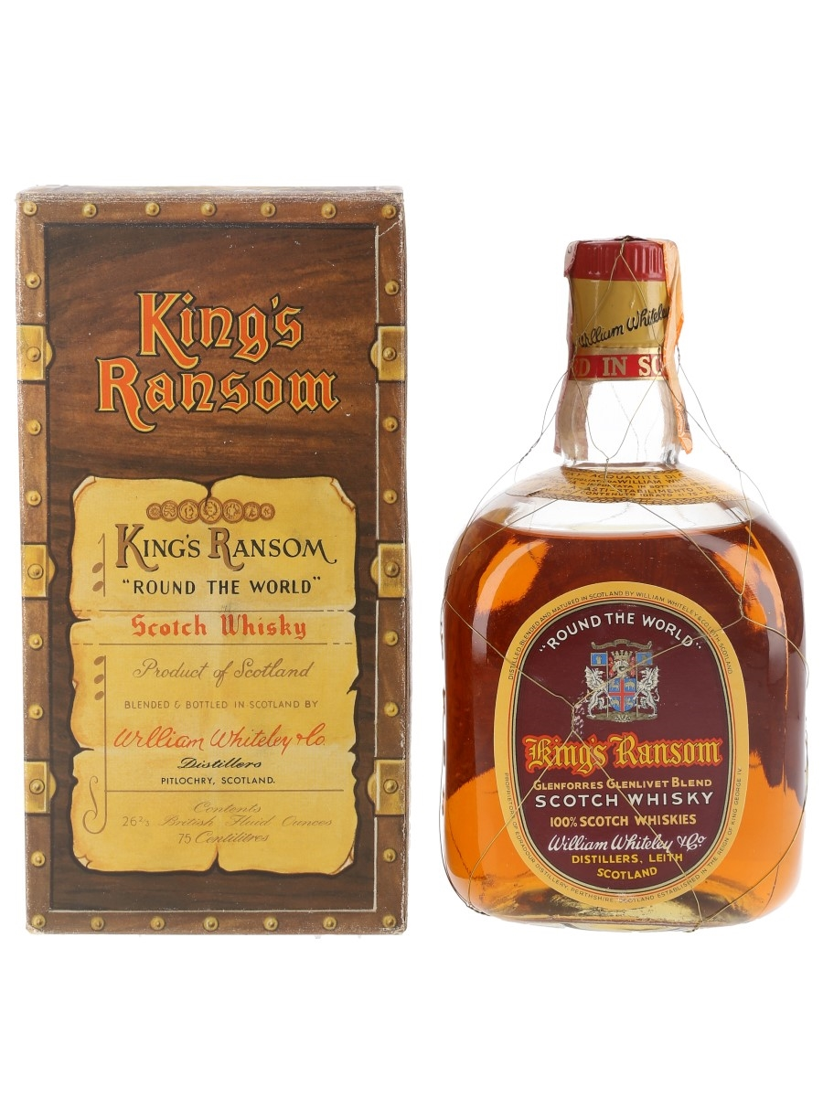 King's Ransom Round The World Bottled 1950s-1960s 75cl